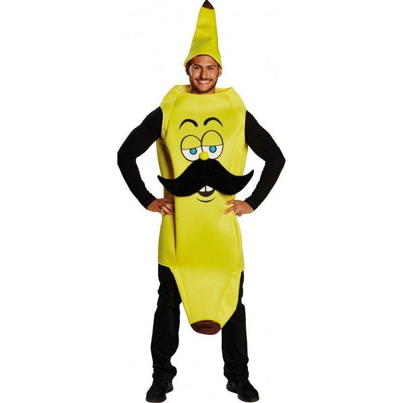 Bananenluie Bananen Kostüm - Einheitsgröße (S-L)