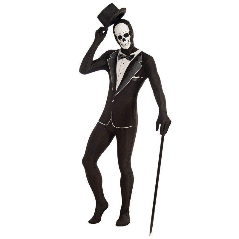 Gentleman Skeleton Second Skin für Herren - M/L