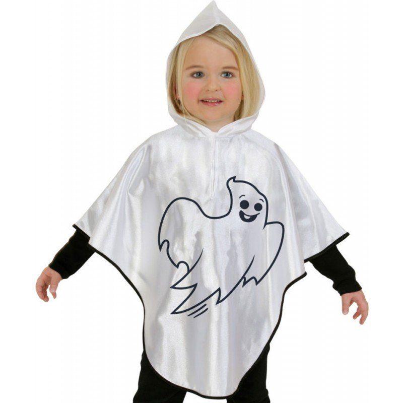 Kinder,  Unisex Süßes Gespenster Cape für Kinder bunt,  mehrfarbig | 04022681001158