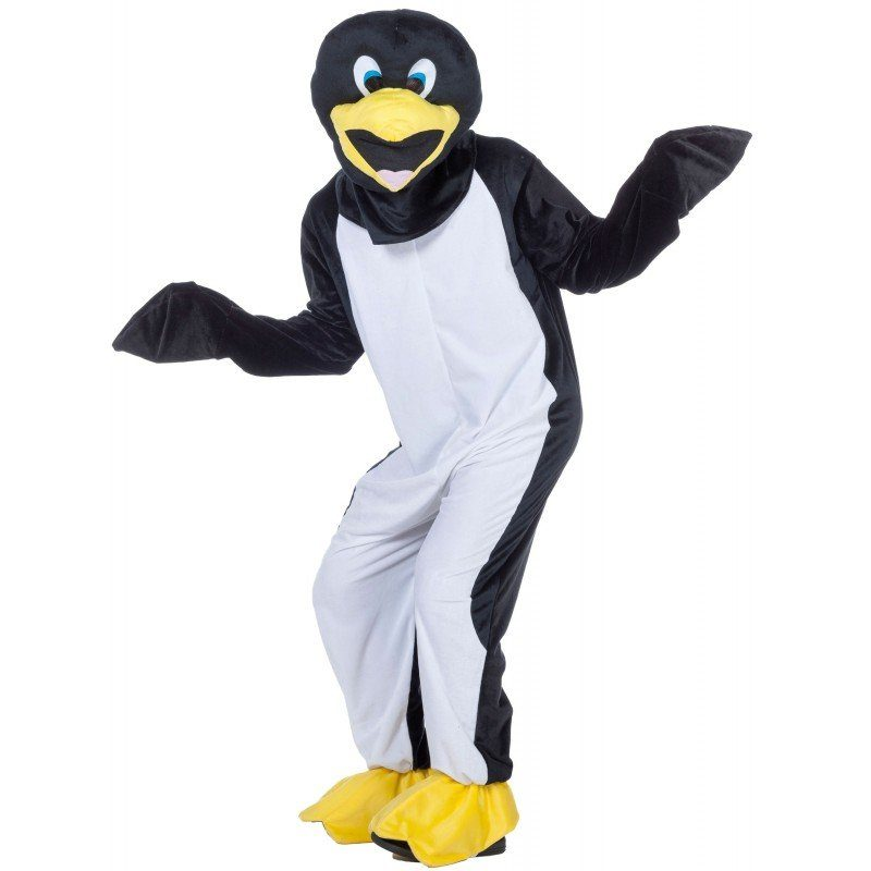 Verrückter Pinguin Maskottchen für Herren - 54