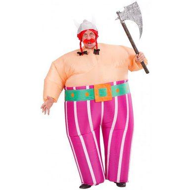 Aufblasbares Wikinger Kostüm (Größe)