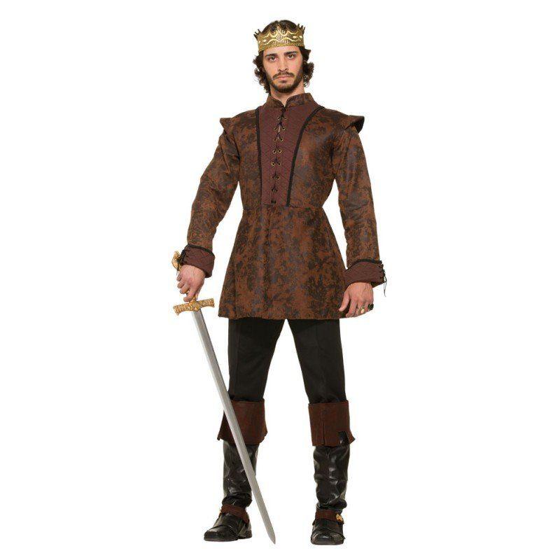 König des Mittelalters Herrenkostüm - M/L