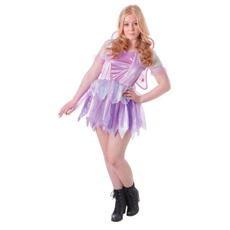 Shiny Glitter Fee Teenager Kostüm - XS