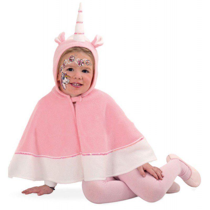 Märchenhaftes Einhorn Cape für Kinder - 104
