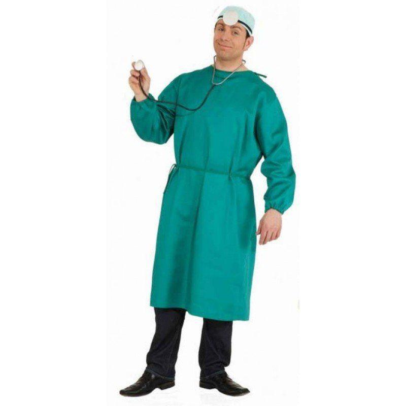 Arzt Chirurg Doktorkittel Kostüm - M/L