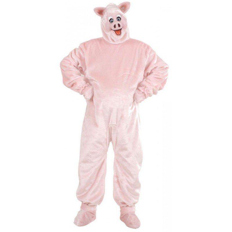 Schwein Plüschkostüm Deluxe - M/L online kaufen