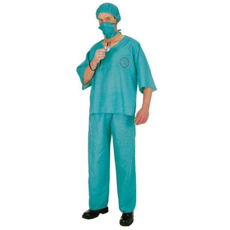 Chirurg OP-Anzug Herrenkostüm - M/L
