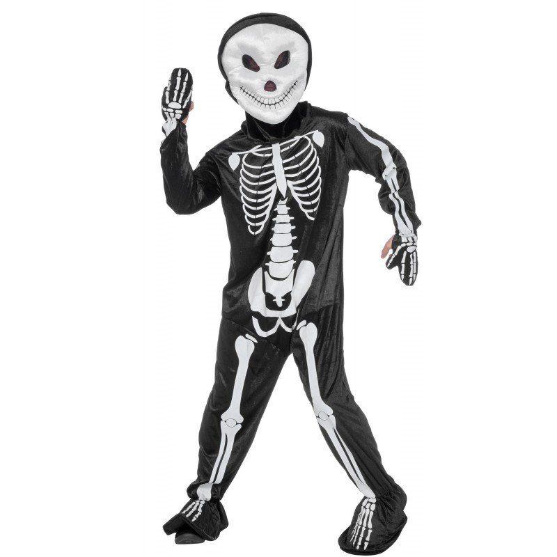 Horror Psycho Skelett Herrenkostüm - 54