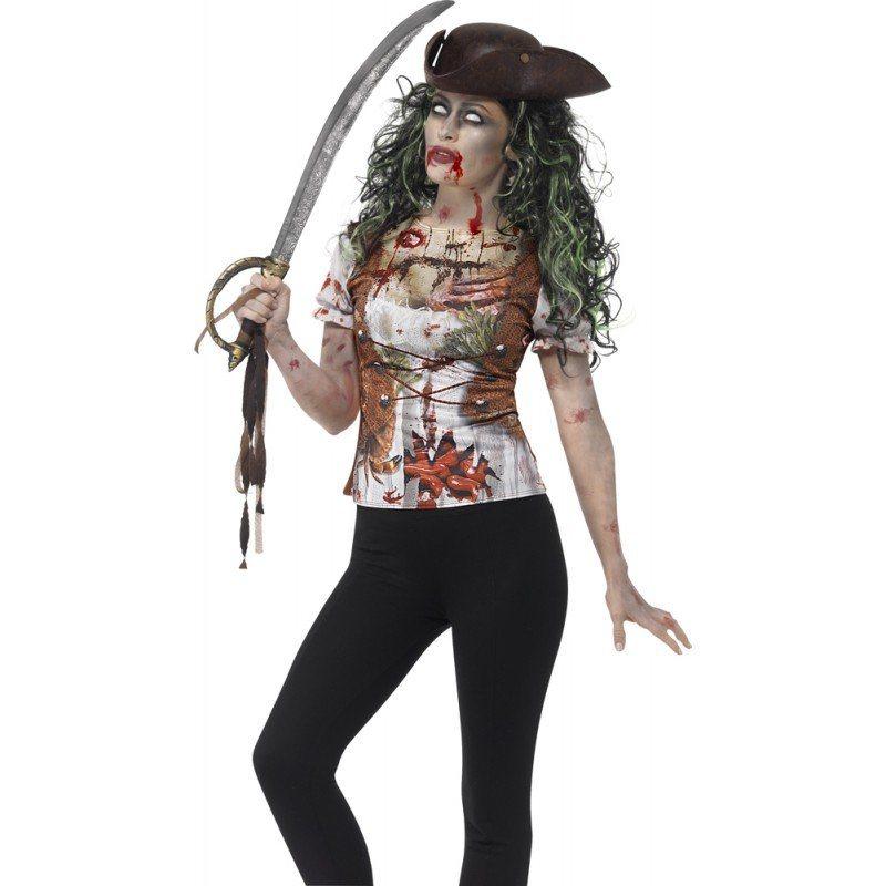 zombie piraten shirt f r damen online kaufen otto. Black Bedroom Furniture Sets. Home Design Ideas
