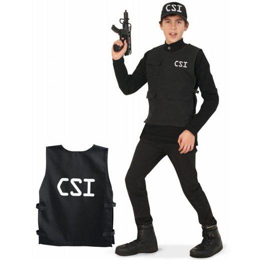 CSI Officer Kostüm für Teenager