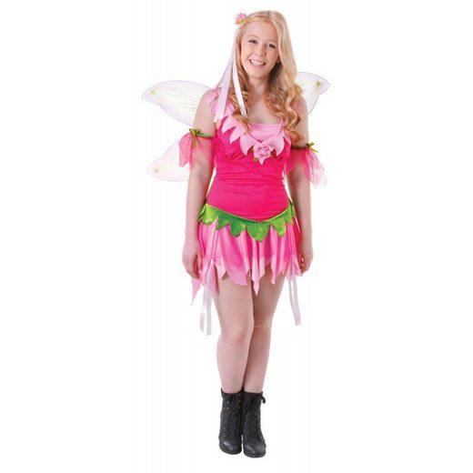 Zauberhafte Blumenfee Teenager Kostüm - XS