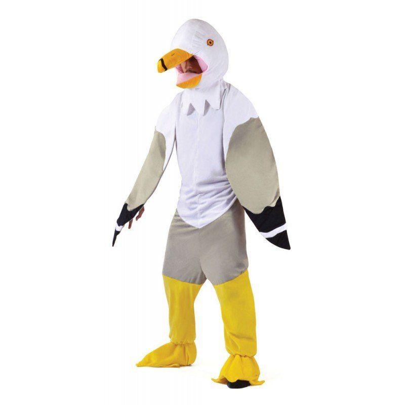 Seagull Möwen Kostüm für Herren - M/L