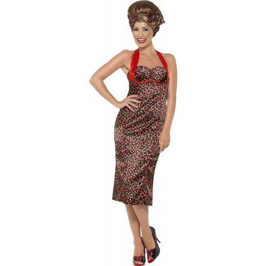Rockabilly Sweet Cherry Kostüm für Damen