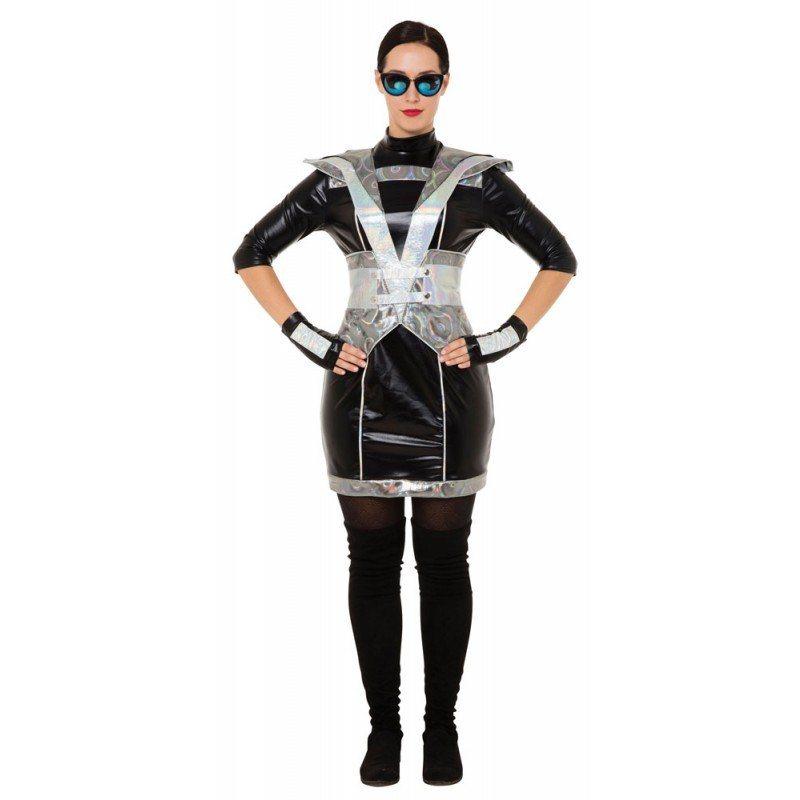 Future Police Woman Damenkostüm - S/M kaufen