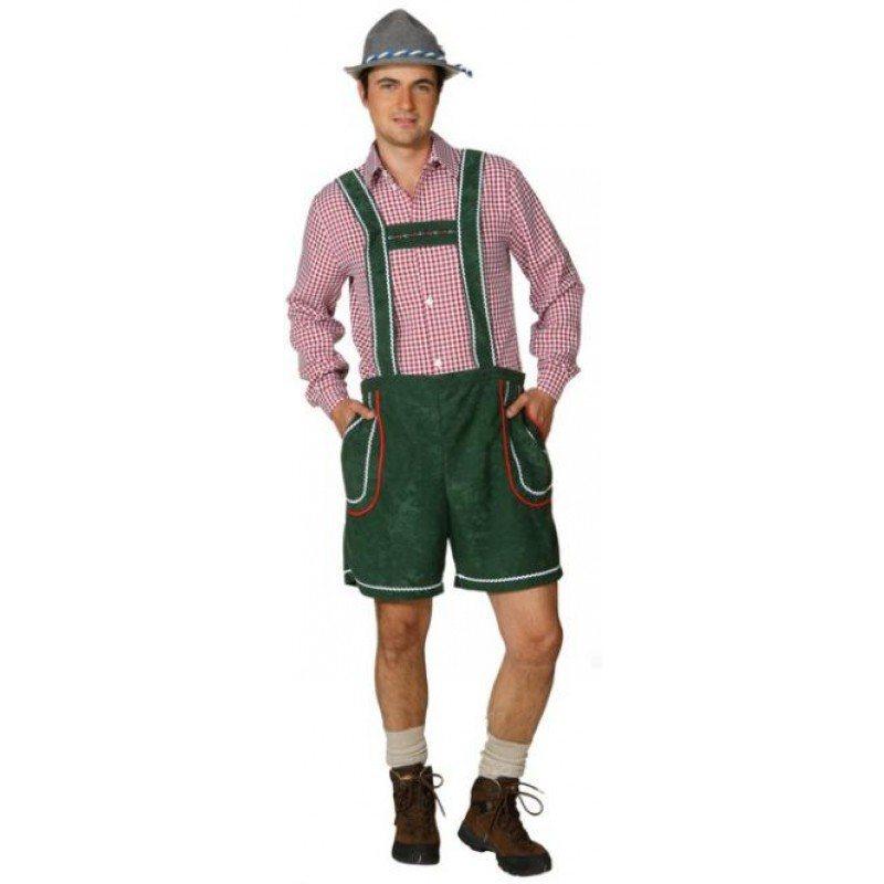 Tiroler Hose in grün - 50 online kaufen