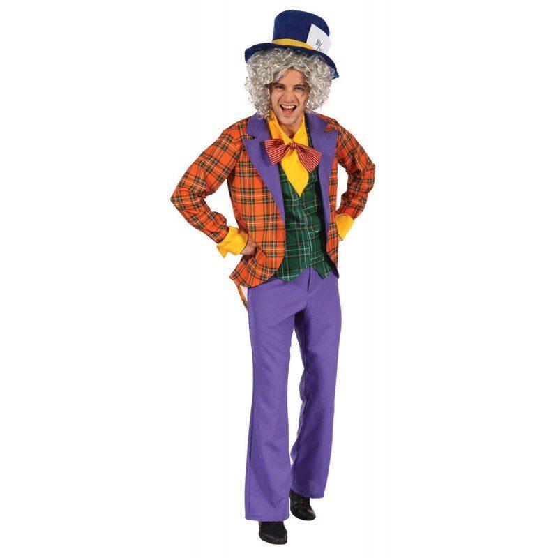 Crazy Hatter Hutmacher Kostüm für Herren - M/L