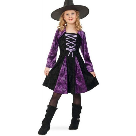 Magische Hexe Violetta Kinderkostüm