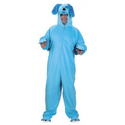 Blauer Hund Overall Kostüm für Herren - 54-58