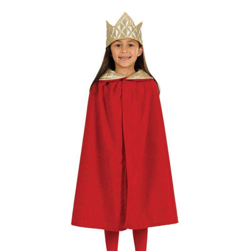 Krippenspiel Königsumhang rot (Größe )