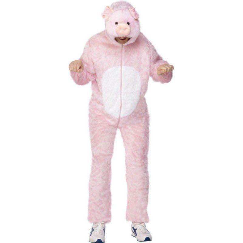 Schweinchen Jumpsuit Kostüm - M/L