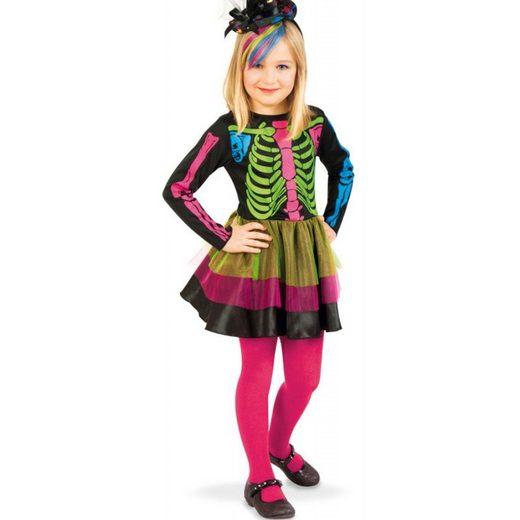 Little Miss Bones Halloween Kostüm für Kinder