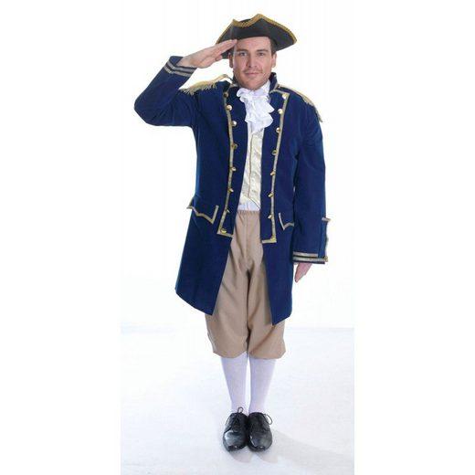 Flottenadmiral Kostüm für Herren - M/L