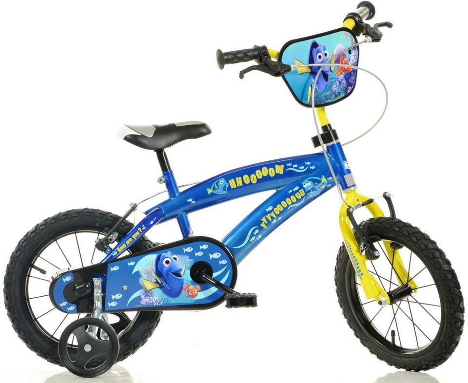 dino kinderfahrrad 14 16 zoll 1 gang finde dory. Black Bedroom Furniture Sets. Home Design Ideas