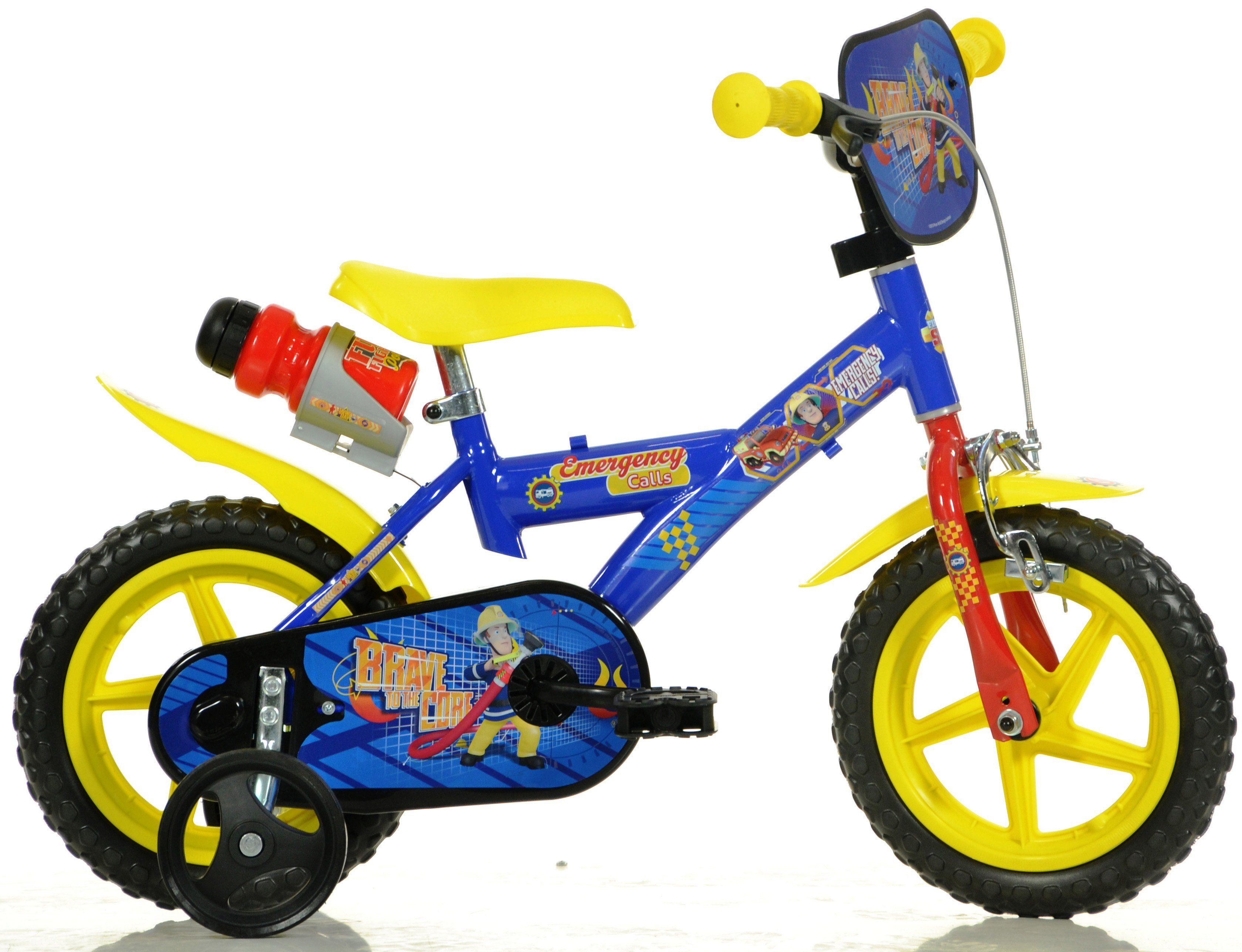 Dino Kinderfahrrad, 12 Zoll, 1 Gang, »Fireman Sam«