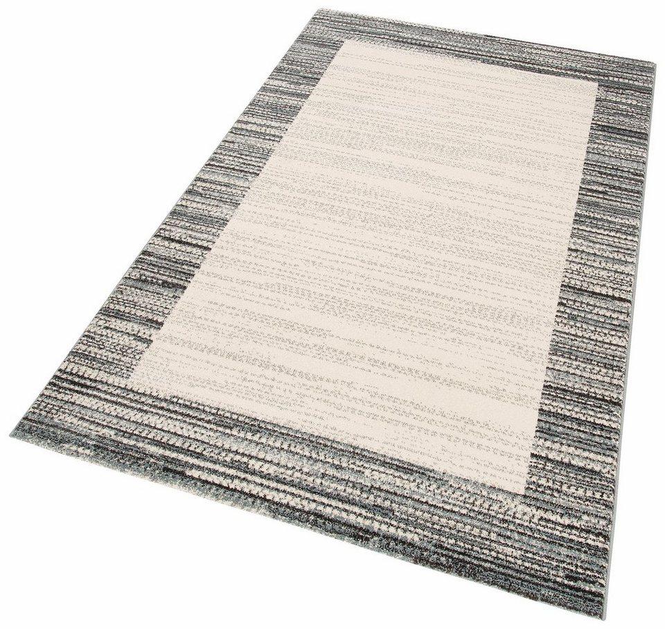 teppich ilka my home rechteckig h he 13 mm bord ren. Black Bedroom Furniture Sets. Home Design Ideas
