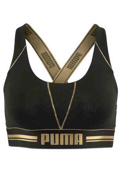 PUMA Bustier »Cross Back Bra«