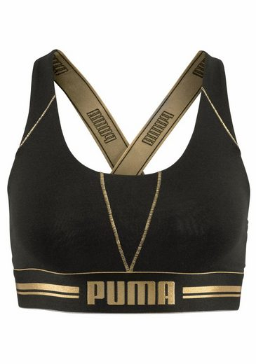 Puma Bustier Cross Back Bra