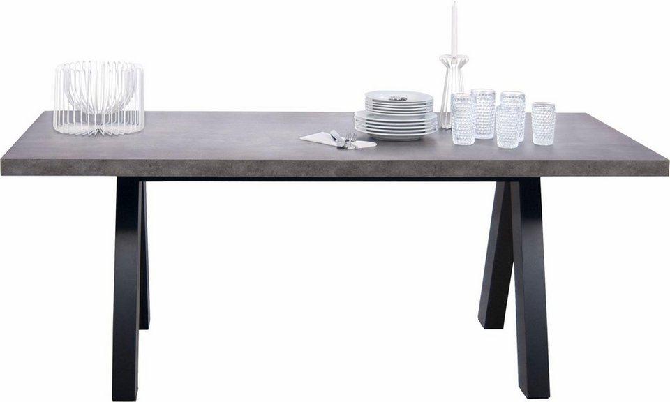 andas esstisch breite 200 cm ausziehbar kaufen otto. Black Bedroom Furniture Sets. Home Design Ideas