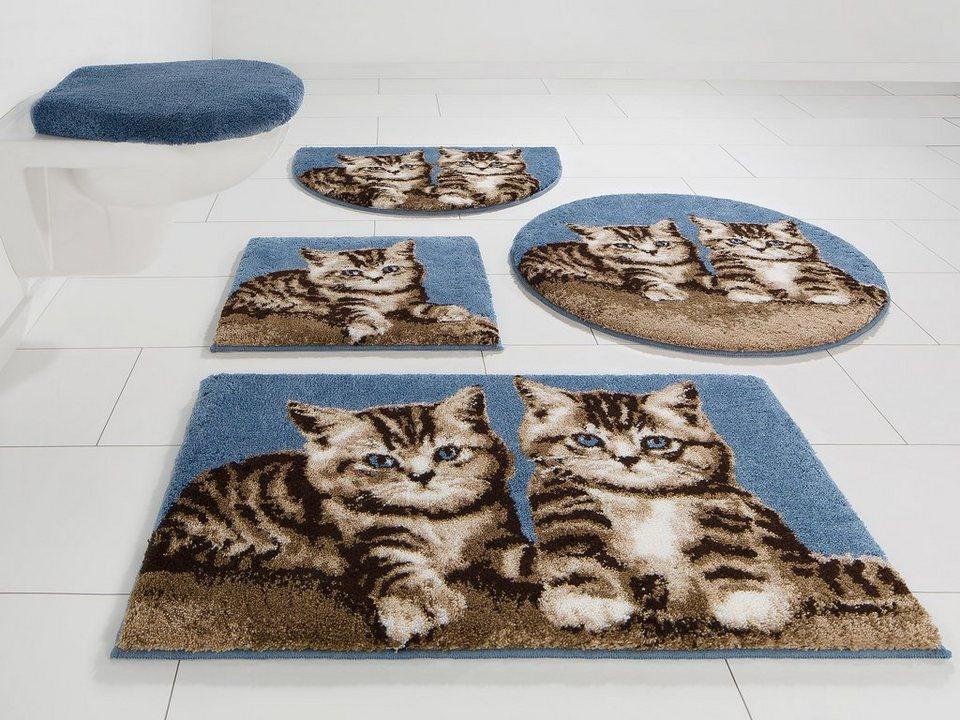 badematte grund katze h he 20 mm rutschhemmender r cken online kaufen otto. Black Bedroom Furniture Sets. Home Design Ideas