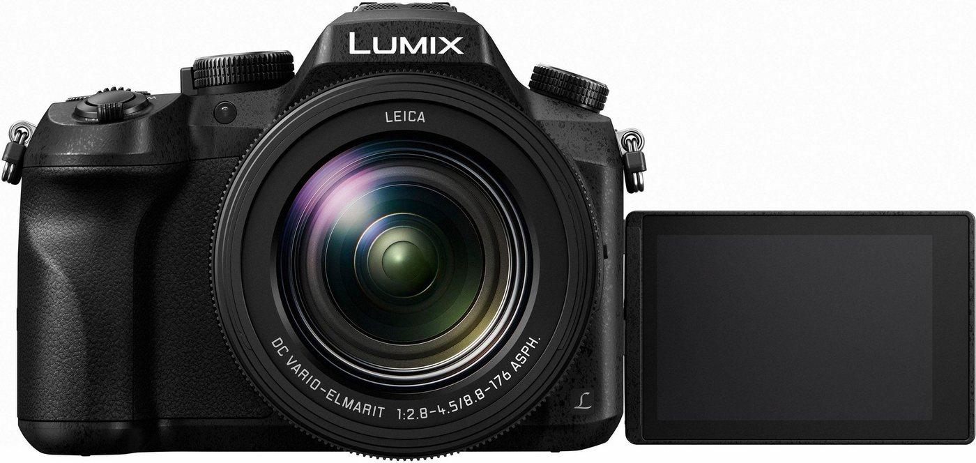 Digitalkameras - Lumix Panasonic »DMC FZ2000EG« Superzoom Kamera (LEICA DC VARIO ELMARIT, 20,1 MP, NFC, Gesichtserkennung, Panorama Modus)  - Onlineshop OTTO