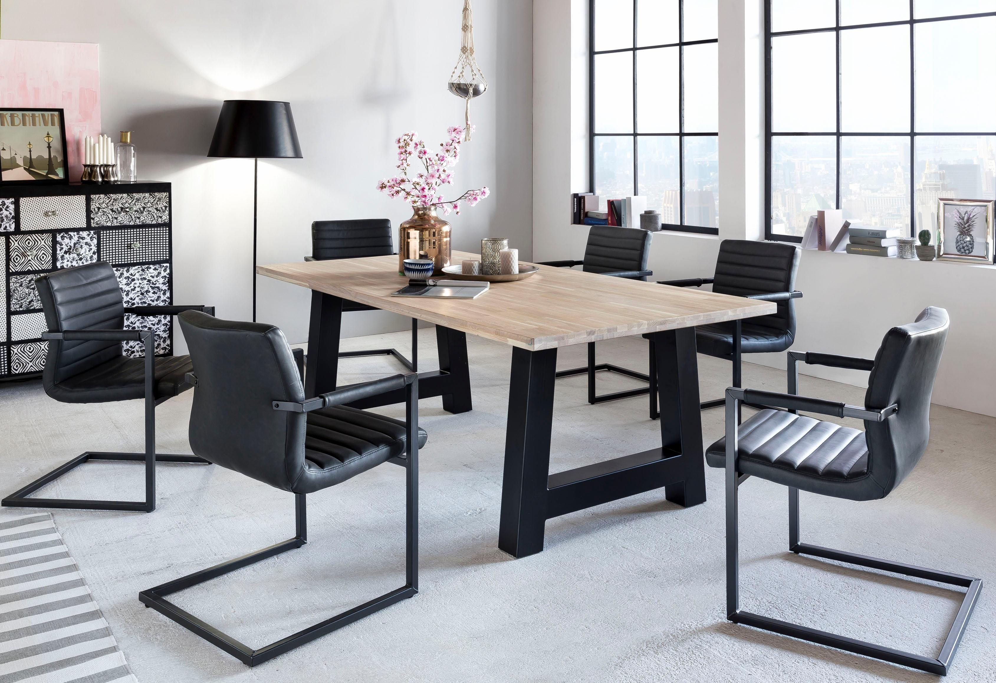 eiche-weiss-eiche Esstische online kaufen | Möbel-Suchmaschine ...