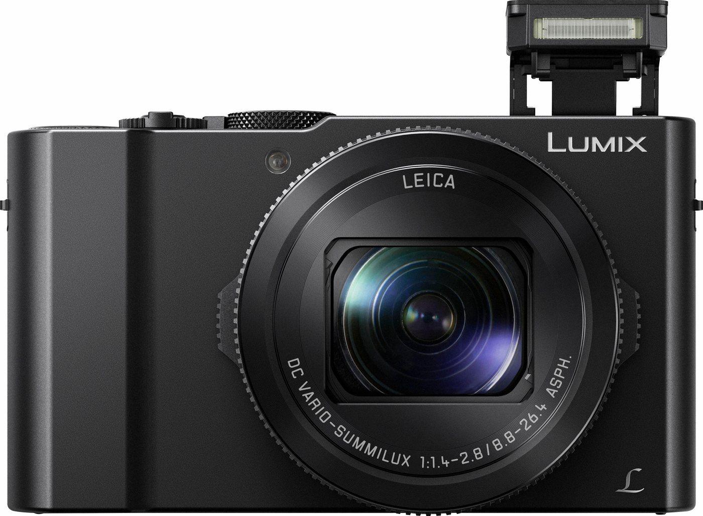 Digitalkameras - Lumix Panasonic »DMC LX15EG K« Kompaktkamera (LEICA DC VARIO SUMMILUX, 20,1 MP, 3x opt. Zoom, HDR Aufnahme, Gesichtserkennung)  - Onlineshop OTTO