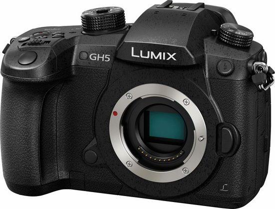 Lumix Panasonic »DM-GH5EG-K« Systemkamera-Body (20 MP, 20-MP-Sensor ohne Tiefpassfilter)