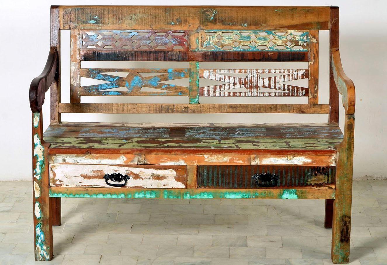 SIT Bank »Riverboat«, Breite 120 cm.