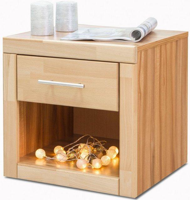 Nachttische - Home affaire Nachttisch «Triest», mit Schublade, Breite 50 cm  - Onlineshop OTTO