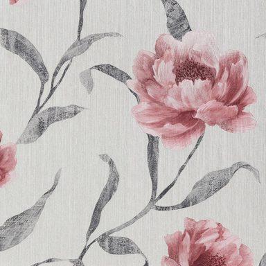 bodenmeister vliestapete floral streifen kaufen otto. Black Bedroom Furniture Sets. Home Design Ideas