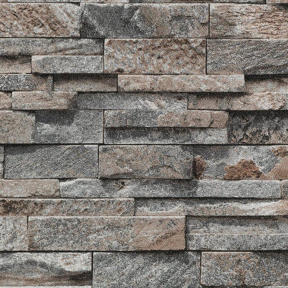 bodenmeister vliestapete stein beton grau otto. Black Bedroom Furniture Sets. Home Design Ideas