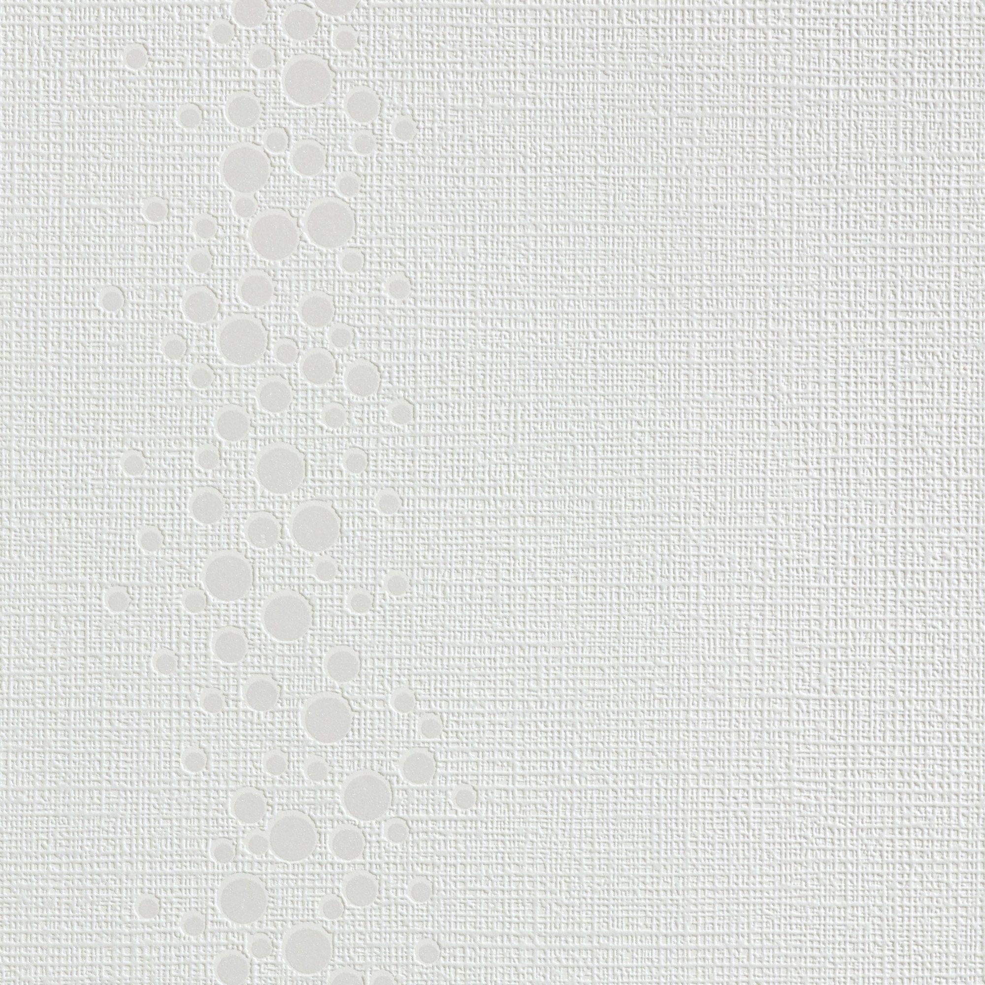 BODENMEISTER Vliestapete »Streifen, Altweiß«
