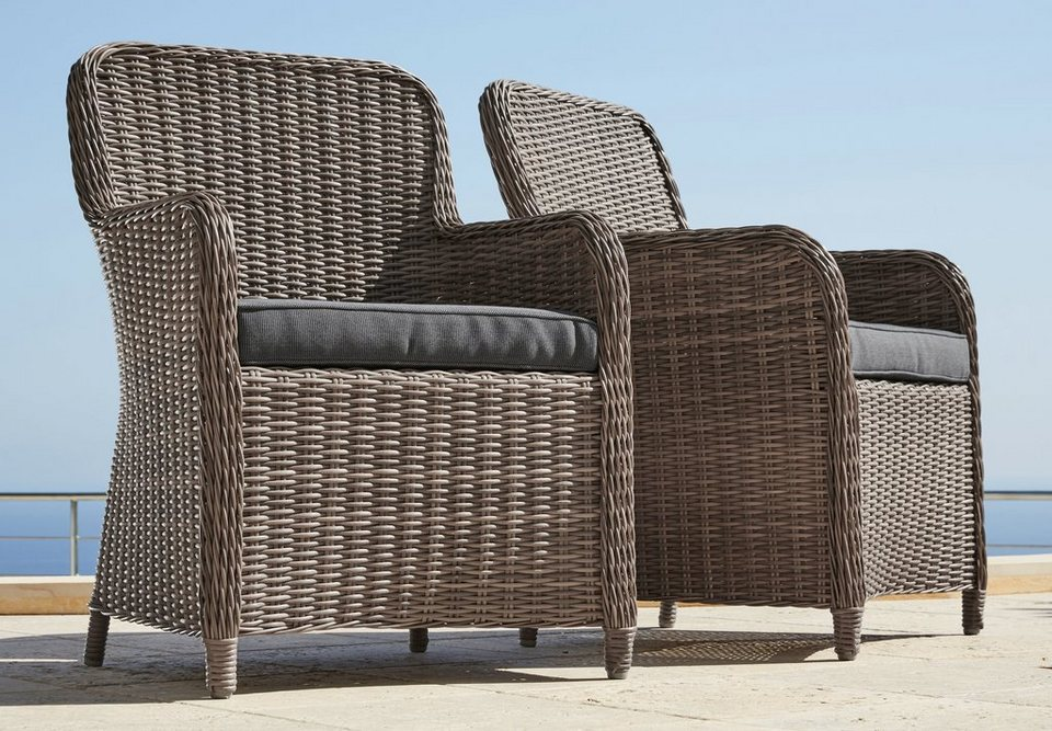 gartensessel polyrattan natur williamflooring. Black Bedroom Furniture Sets. Home Design Ideas