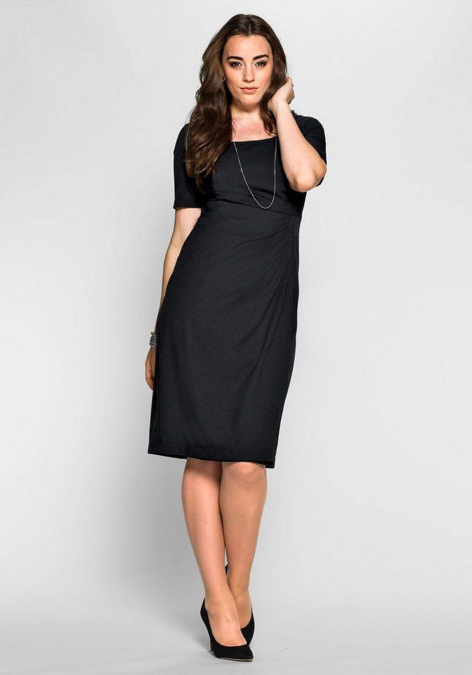 Anna Scholz for sheego Cocktailkleid Aus dicht gewebter und elastischer  Qualität für eine ideale Passform 844a296823