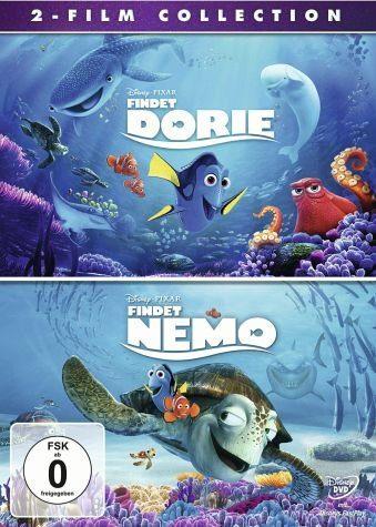 DVD »Findet Dorie / Findet Nemo - 2-Film Collection...«