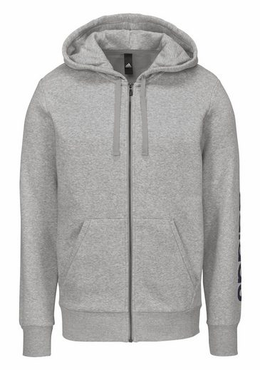 adidas Performance Kapuzensweatjacke ESSENTIALS LINEAR FULL-ZIP HOOD FLEECE