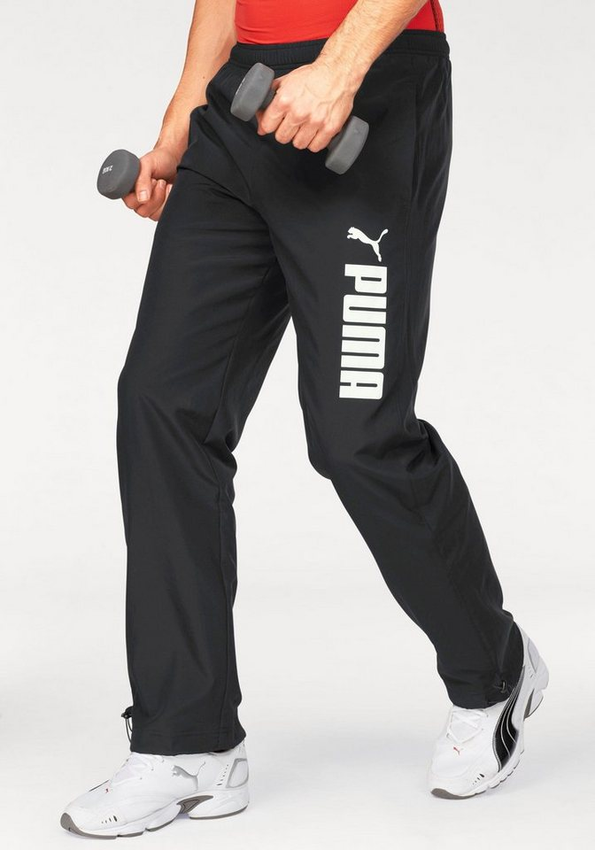 PUMA Sporthose »Woven Pant« in schwarz