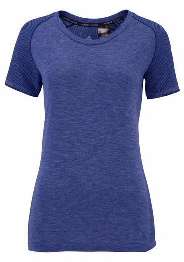 adidas Performance Laufshirt PRIMEKNIT WOOL SHORT SLEEVE TEE WOMEN