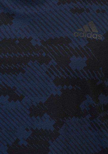 adidas Performance Tanktop ESSENTIALS ALL OVER PRINT SLEEVELESS TEE