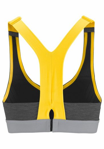 adidas Performance Sport-BH COMMITTED BRA HEATHER
